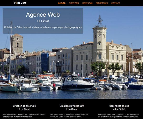 visit 360, agence web Cassis